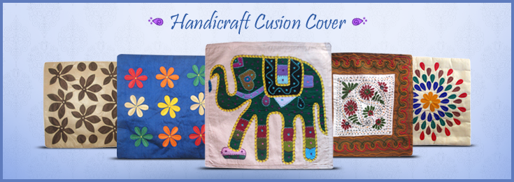Handicraft Cusion Cover