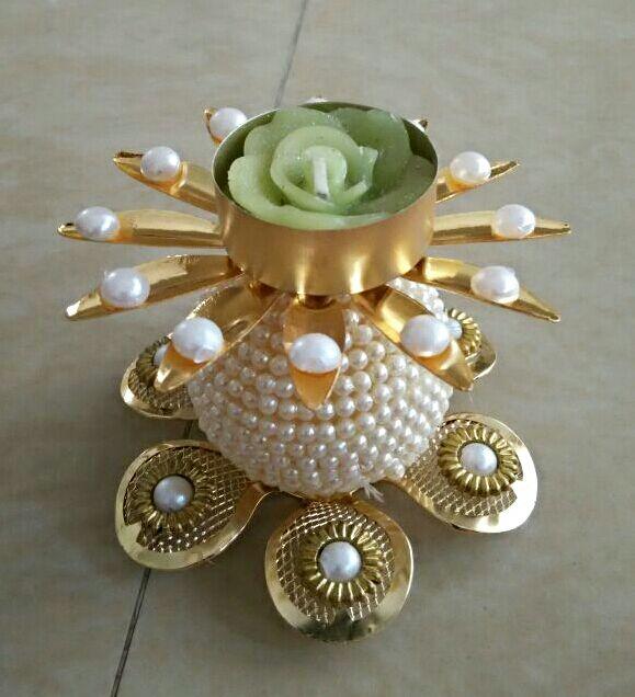 Pearl Decorative Diyas