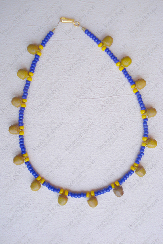 Blue-Yellow Anklets