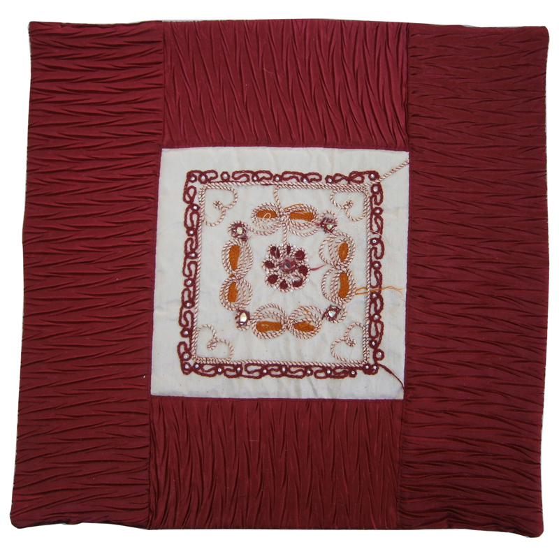 Silk Cushion Cover ( 5 Piece Set)