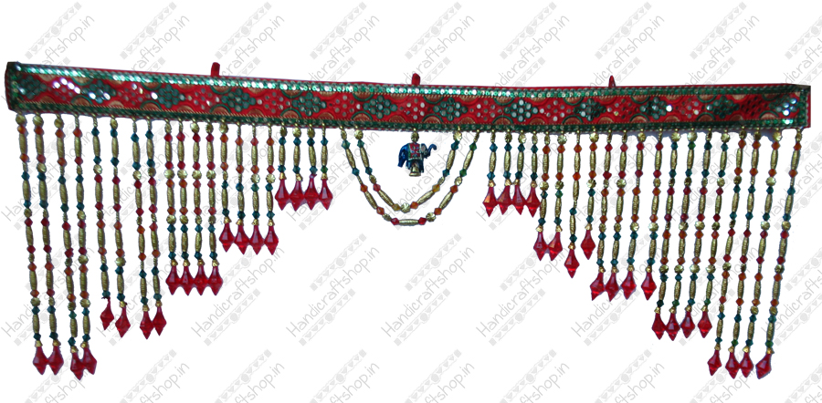 How to Make Toran http://www.handicraftshop.in/traditional-toran